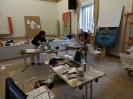 Delavnica in razstava Likovne delavnice Šmartno, 18. 8. 2018