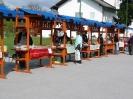 Kmečka tržnica in izdelovanje butar