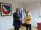 Županov sprejem Ane Drev, 3.2.2016
